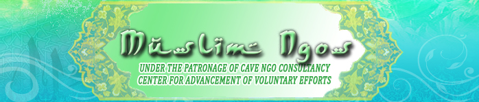 Muslim NGOs, CAVE, Centre for Advancement of Voluntary Efforts, CAVE Ngo Consultancy